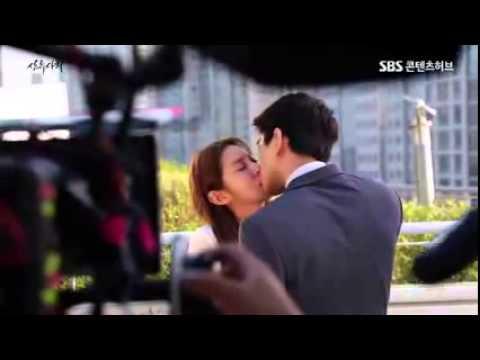 [BTS] Kiss Scene - High Society Ep 4 - UEE and Sung Joon