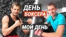 День боксера зарядка питание работа и тренировка по боксу