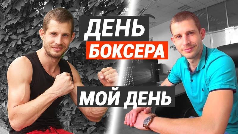 День боксера – зарядка, питание, работа и тренировка по боксу