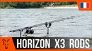 *** Pêche à la Carpe FOX TV *** Horizon X3 Rods