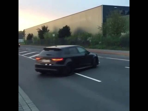 Audi RS3 S tronic sound exhaust