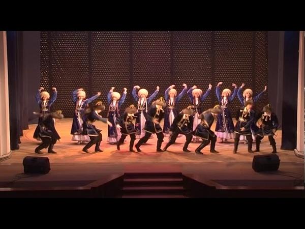 Образцовый танцевальный коллектив Забава. Танец Азамат.