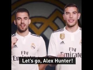 """Добро пожаловать в """"Реал"""", Алекс Хантер"""