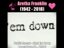Aretha Franklin hip hop memories