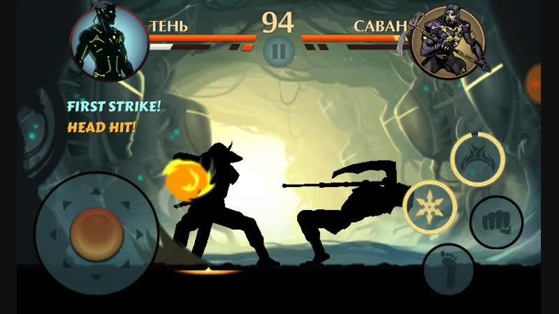 Shadow Fight 2 LooterRaptor vs Shroud