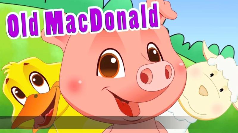 Old MacDonald Had A Farm EIEIO in HD with Lyrics by EFlashApps