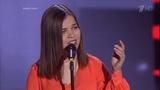 The Voice RU 2015 Ilona Казачья Blind Auditions Голос 4. Илона Соломонова. СП
