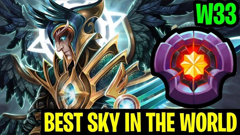 Best Sky In The World - W33 INSANE GAMEPLAY - Dota 2