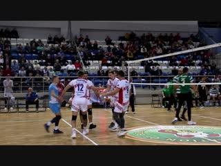 1/16 Кубка Вызова ЕКВ Строитель - SC Portugal Lisboa (Португалия)