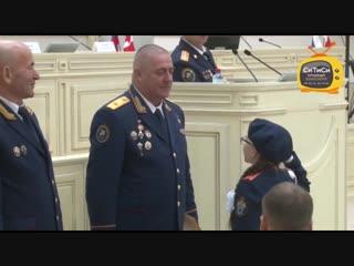 Поздравление кадетов