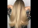 Airtouch на густые волосы