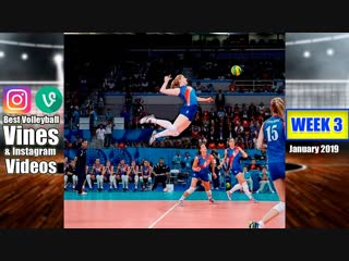 Best Volleyball Vines of January 2019. WEEK 3.