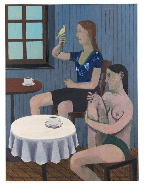 christoph ruckhaberle (1972) - современный немецкий художник. представитель новой лейпцигской школы. кристоф рукхаберле родился в 1972 году в г. пфаффенхофен-на-ильме, фрг в 1972 году. рисовать