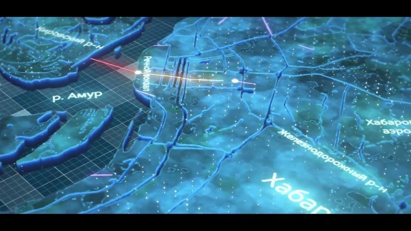 Визуализация трассы SkyWay в Хабаровске | Presentation of the SkyWay track in Khabarovsk