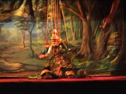 Burma - Puppet Theatre