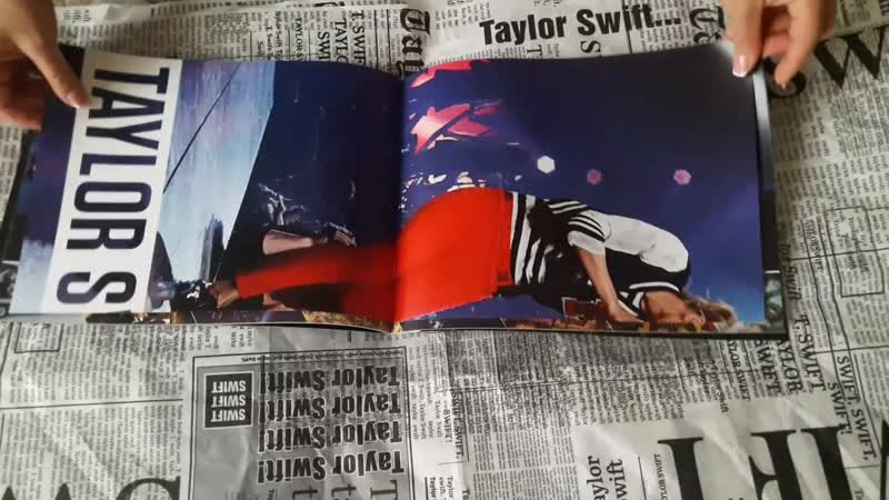 RED TOUR BOOK РАСПАКОВКА ОТ CELEB STORE