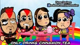 Chibi Wrestlers - Bayley and AJ Lee Tea Party with The Ascension (WWE Parody)