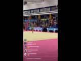 Александра Солдатова булавы(многоборье) Гран-при Марбелья 2019