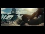Бой линкора Миссури с инопланетным кораблем _Морской бой