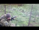 Афганистан 82 Панжшер Ратник стреляет с АКМ