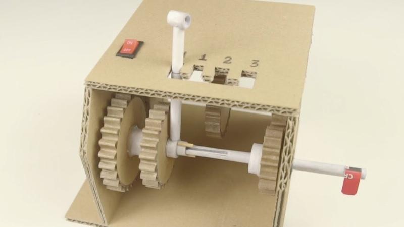 DIY 3 Speed Gearbox
