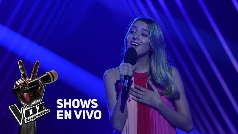 Shows en vivo TeamTini: Isabel canta El tiempo es veloz de David Lebón - La Voz Argentina 2018
