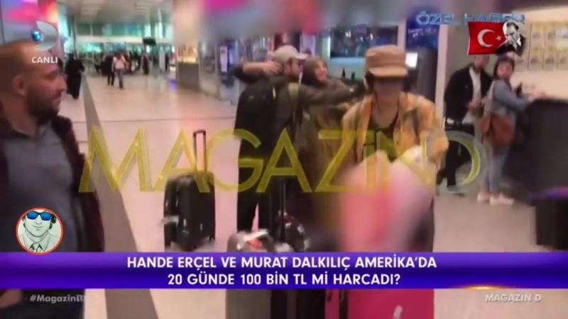 Murat Dalkılıç ve Hande Erçel Evleniyor! Tatil Dönüşü Büyük Sürpriz! (720p)