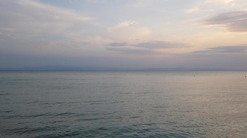 Первое утро на Кассандре или знакомство с пляжем