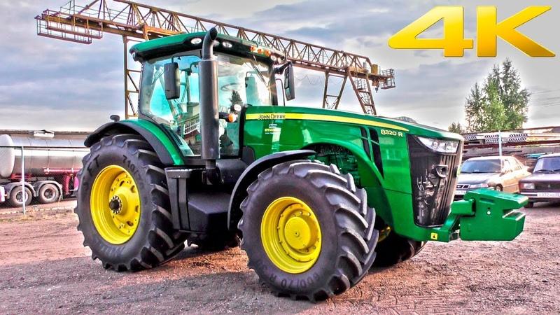 Новый трактор JOHN DEERE 8320R - идеальное сочетание мощи, дизайна и функциональности. Обзор 2018