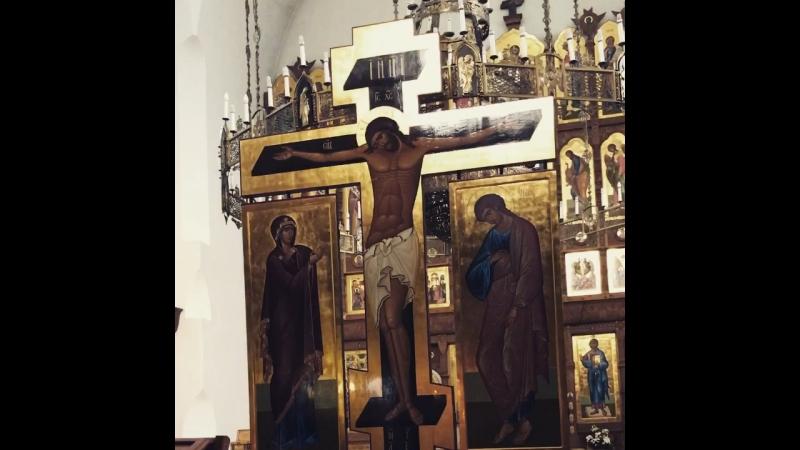 Разделиша ризы Моя себе... хор Свято-Троицкого храма, г.Балаково.