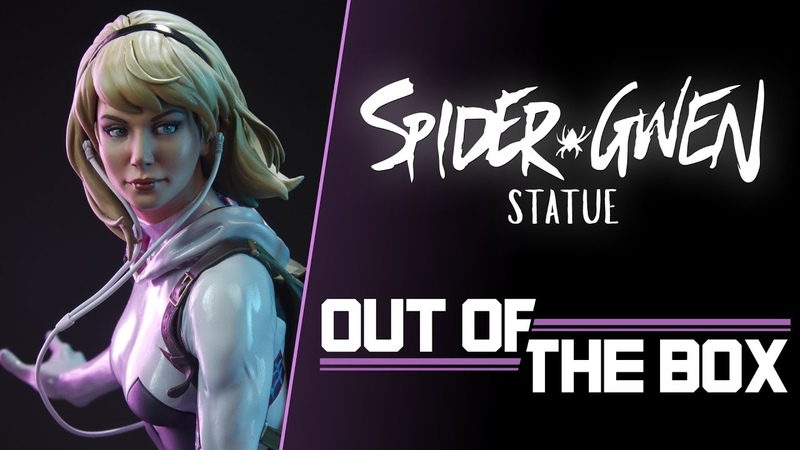 Spider Gwen Statue Out of the Box Exclusive