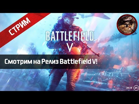 Смотрим на Релиз Battlefield V! (PlayStation 4 Stream) | WaffenCatLive