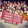 """Ezequiel Fernanz on Instagram """"El Jueves 30/Nov. Viernes 01/Dic y Sábado 02/Dic a las 20.39 hs presentamos nuestro nuevo espectáculo! Teatro Caras..."""