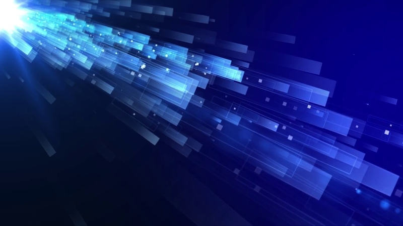 Dynamic Abstract Geometrical Blue Animated Background loop || HD||Royalty Free || FREE DOWNLODE