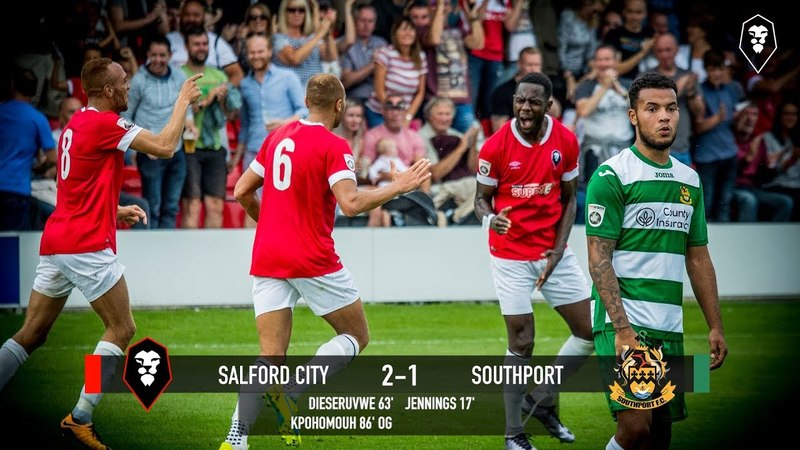 Salford City 2-1 Southport - National League North 28/08