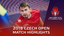 Xu Chenhaoo vs Kirill Skachkov | 2018 Czech Open Highlights (Pre)