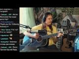 Отрожение в воде Алла Пугачёва Захар Май кавер на гитаре запись с эфира