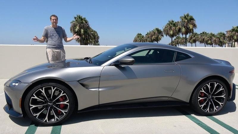 Aston Martin Vantage 2019 года это настоящая спортивная машина за $185 000