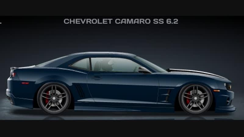 Chevrolet Camaro SS 6.2 (6,449)
