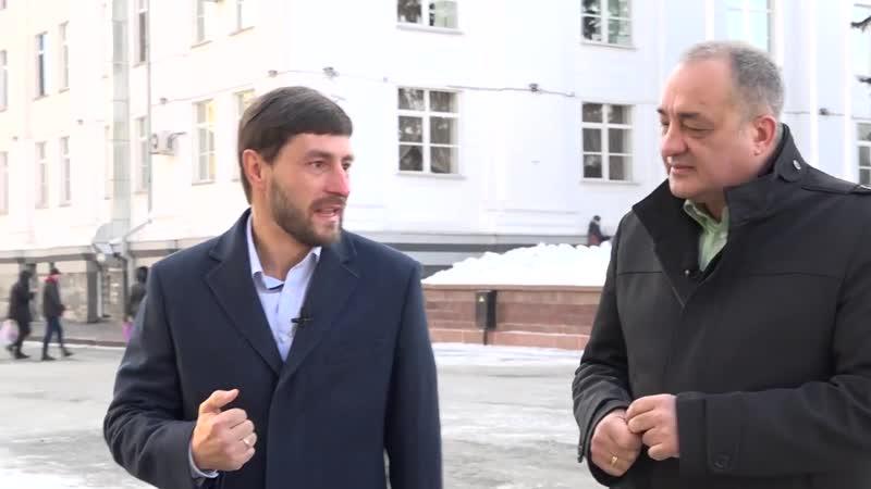 Секретарь Кемеровского регионального отделения дал большое интервью телеканалу ГТРК Кузбасс