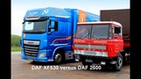 DAF 2600 versus DAF XF 530