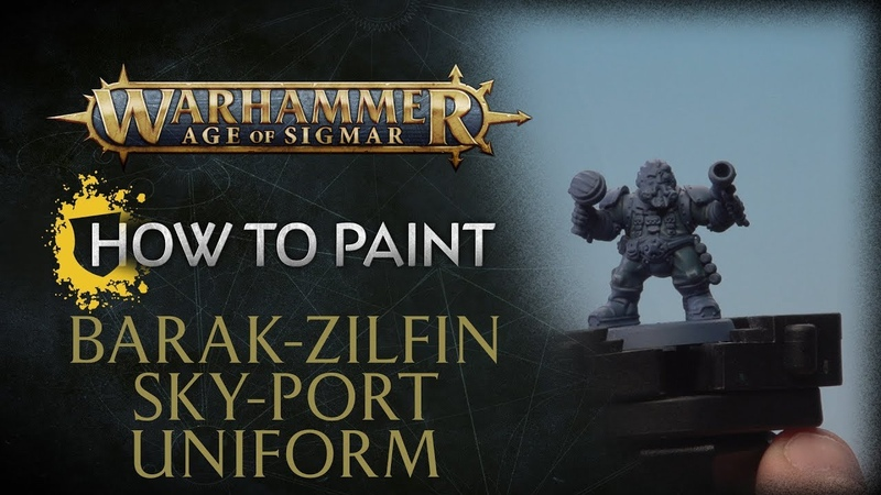 How to Paint: Barak-Zilfin Uniform