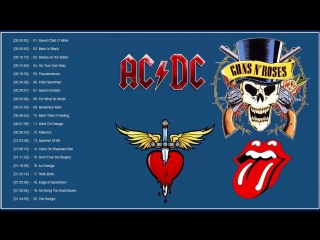 Top 100 best rock songs of all time. classic rock songs the 70s 80s 90s