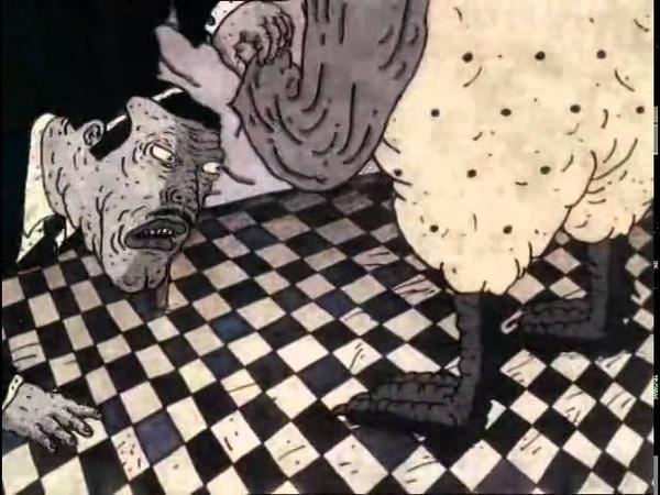 Психоделический мультик - Его жена курица. Выпуск 10