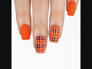 Halloween plaid! 🧡🖤🧡
