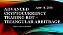 Chapter 5 - Advanced Cryptocurrency Trading Bot - Triangular Arbitrage Overview - Python - Bitcoin