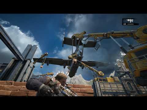 GEARS OF WAR 4-04 Defendendo a Vila-PC Gameplay - 2,5K2560x1440QUAD HD - Ultra Settings - 60fps