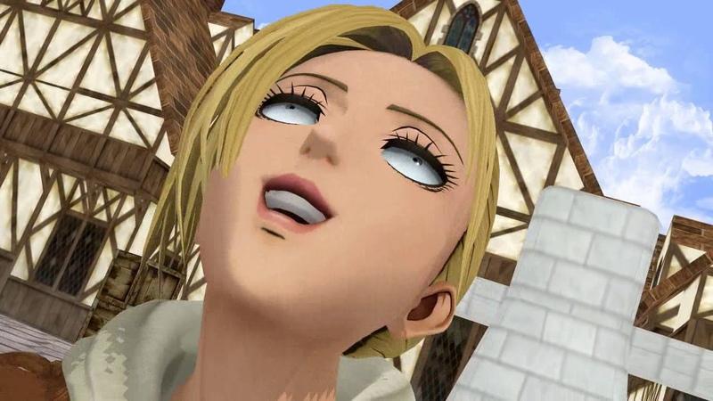 MMD Meme Compilation Shingeki No Kyojin