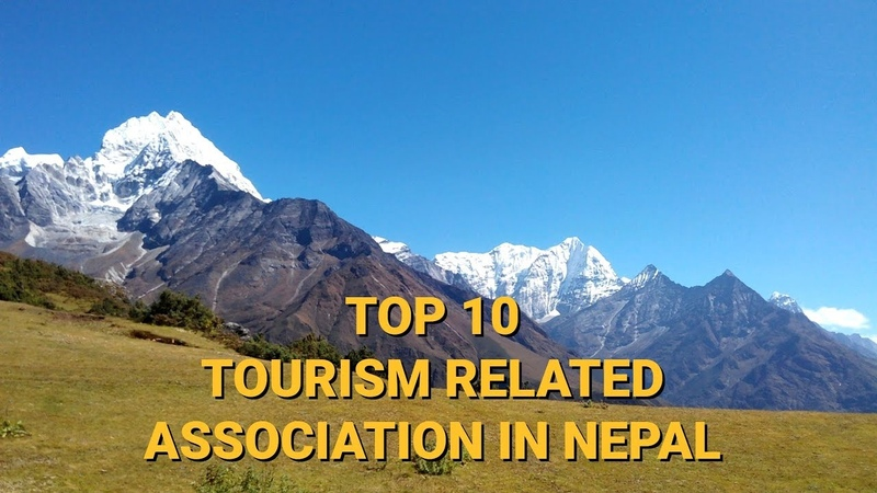 List of Top 10 Tourism Related Associations in Nepal