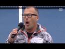 US Lehrer singt die erste Strophe des Deutschlandliedes Original Video ohne Text Einblendungen Nationalhymne Deutschlandlied
